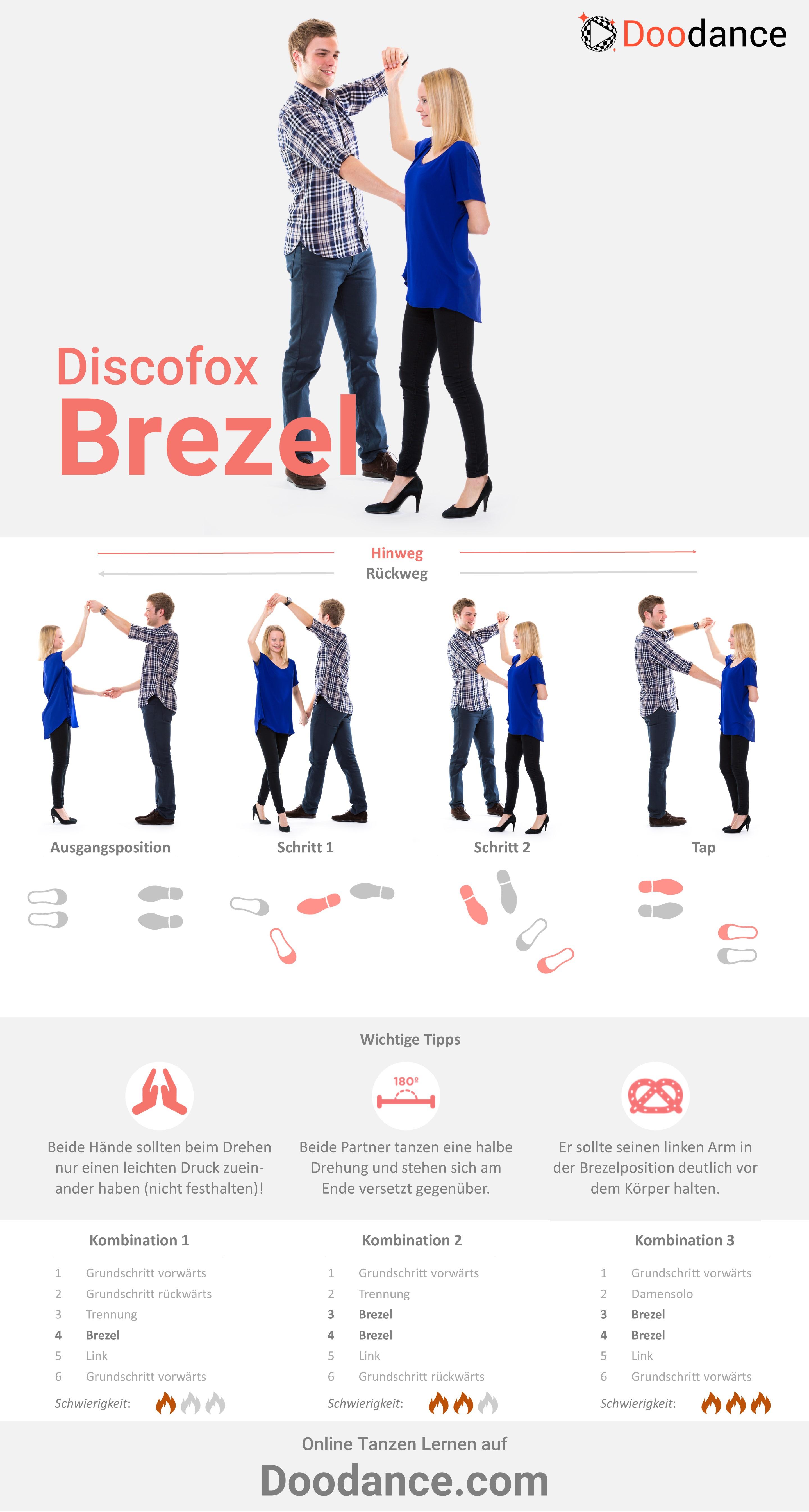 Anleitung für die Brezel im Discofox